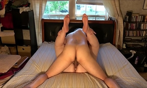 Extremely excited non-professional pair screws and cums in hawt, homemade, creampie fashion: with window shades pulled aside, we fuck every other in the centre of the day and groan and yell out in absolute ecstasy