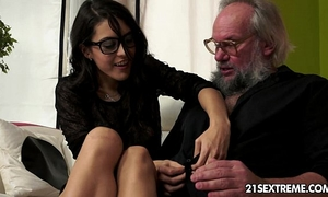 Geek dirty slut wife carolina likes to fuck aged studs