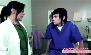 Lesbian doctor and patient older juvenile BBC slut on white bitch