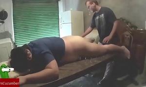 Shaking twat into the garage. raf065