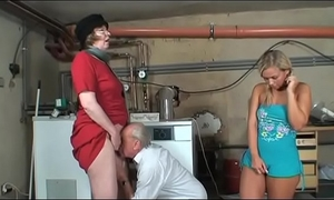 Old chaps most like to gangbang youthful and shy nubiles vol. 34