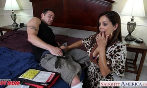 Chesty mommy francesca le fucking a big dong