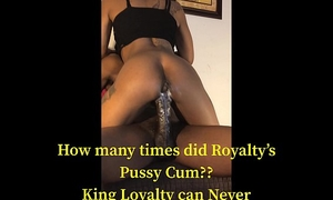 Blac creamy wet crack 'royalty' luvz to b wicked with loyalty!
