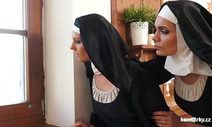 Catholic nuns and the monster! mad monster and slits!