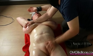 Busty serf love tunnel fingered by her taskmaster