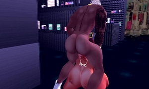 Explicit ma receives screwed by monster dark dick in store
