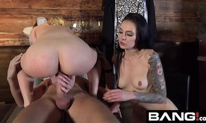 Bang confessions: aubrey sinclair three-some fuck in dressing room
