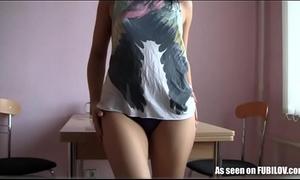 Lesbian gf nikola teasing in this masturbation episode