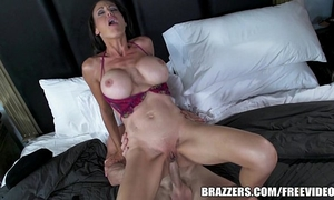 Miss mckenzie desires to fuck a cop. this babe receives her crave