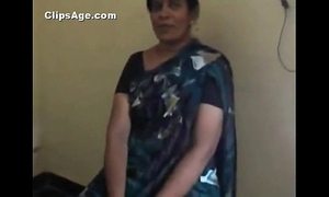 Indian desi teacher aunt stripping and engulfing ramrod of her co-worker mms - indian sex movie scenes