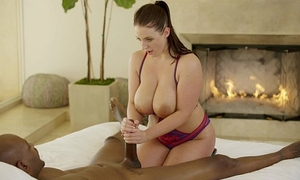 Blacked 1st interracial for model marley brinx