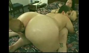 Emo swinger takes black jock briefly in the butt