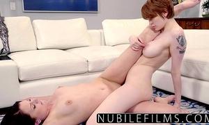 Nubilefilms - redhead beauty bree daniels lesbo collision