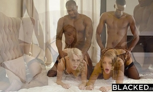 Blacked adriana chechik and cadence lux 1st interracial foursome