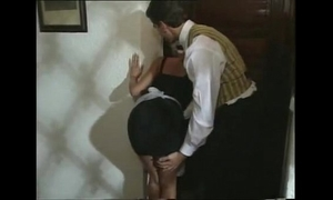 Sexy blond maid acquires turned on and 10-Pounder downed by coworker