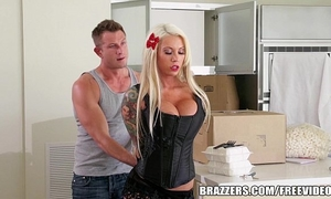 Lolly ink finds her husbands servitude stash and desires to try it