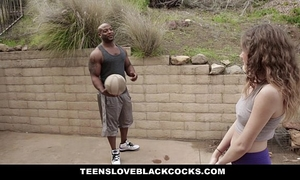 Teensloveblackcocks - juvenile miniature kendall screwed by bbc