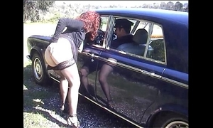 Jessica rizzo screwed in the a-hole by a rolls driver