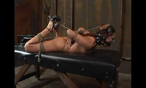 "Satine phoenix - perfect serf ""hogtied and fucked"" 02/25/2007"