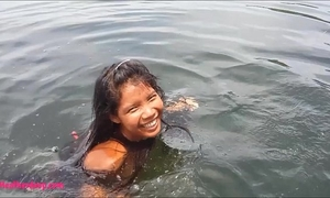 Tiny thai teenies heather unfathomable deepthroats monster spunk flow on boat