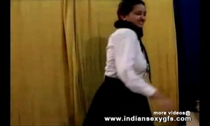 Horny hawt indian pornstar hottie as school BBC slut squeezing large bra buddies and masturbating part1 - indiansex