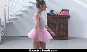 Exxxtrasmall - small ballerina bonks her instructor!