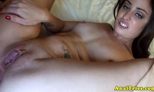Anal loving dilettante acquires booty fucked