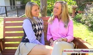 Mature mom and stepteen take a ejaculation