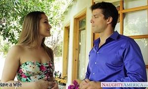 Beautiful cheating wife dani daniels engulf wang outdoors