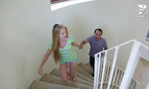 Mexican baby sitter bonks youthful legal age teenager blond avril hall!!!