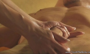 Asian exotic body massage