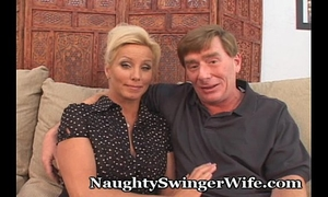 Horny mature pair can't live without to swing