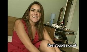 Real couple valentina and david filmed