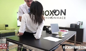 Assfucking my cheating wife in my office