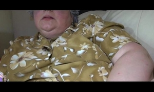 Bbw granny and youthful white women masturbating jointly