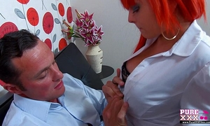 Purexxxfilms redhead punker cheating wife screwed hard