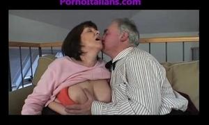 Granny older bitch engulfing weenie on old shlong vecchia troia matura succhia cazzo