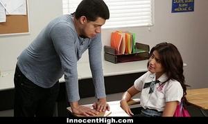 Innocenthigh - ava mendes copulates her teacher for an a