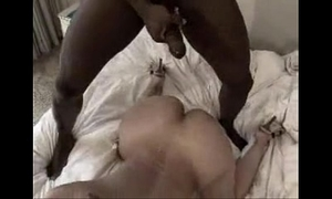Boyfriend filming his dark brown gf with bbc