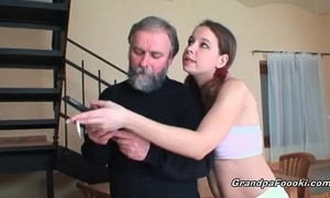 Super hawt playgirl sucks grandpa's wang