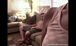 Sexxy non-professional daybed quickie