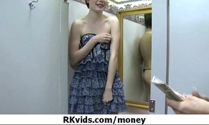 Desperate legal age teenager naked in public and bonks to pay rent 10
