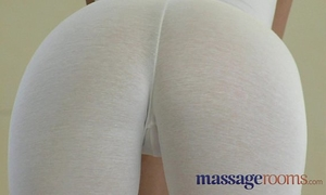 Massage rooms large natural love melons and diminutive hands satisfy