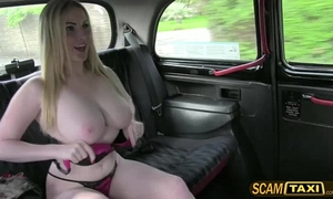 Hot georgie acquires drilled for taxi fare