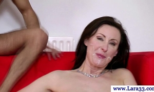 Mature nylons with taut butt screwed in hawt high def