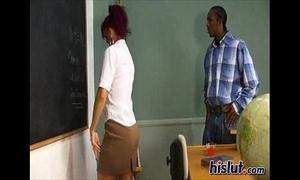 Raven is a teacher