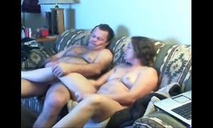 Watch mama and dad home alone having pleasure. hidden web camera