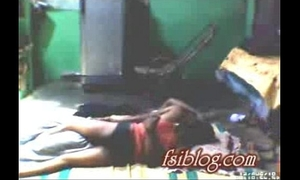 Village wife lying on floor with her neighbour