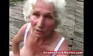 Check out this filthy grandma