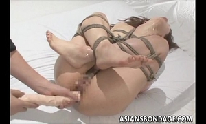 Tied and drilled hard